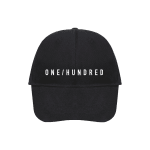 ONE/HUNDRED Cap Vorderseite Produktbild
