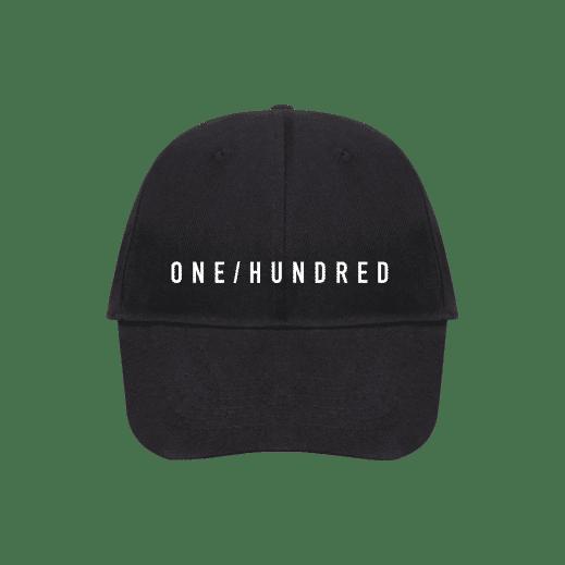 ONE/HUNDRED Cap Vorderseite Produktbild